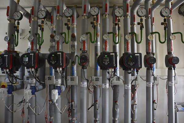 ústredné vykurovanie, zdravotechnika, plynoinštalácia areál Roosvelta