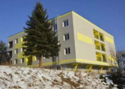 Bytové domy - Námestie L. Svobodu Banská Bystrica