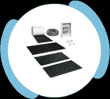 Podlahové vykurovanie od Sisep - PVP