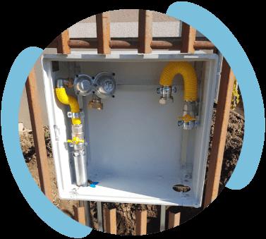 Plynové prípojky - zrealizovanie pripojovacieho plynovodu